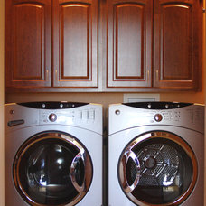 Traditional Laundry Room by Kitchen Fair