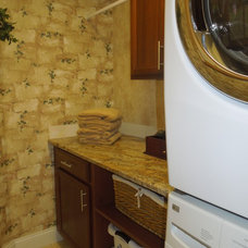 Traditional Laundry Room by Marketplace Fabrics, Decor & More, Inc.