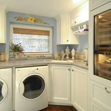 Beach Style Laundry Room by Hartung Construction, Inc.