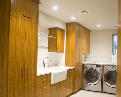Best Midcentury San Diego Laundry Room Design Ideas & Remodel Pictures   Houzz