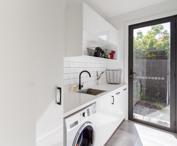Modern Laundry Room by The Kitchen Design Centre