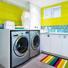 Contemporary Laundry Room by RODOLF NOEL Photographe