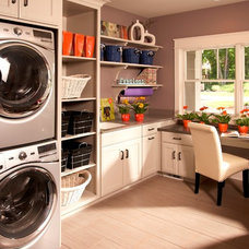 Traditional Laundry Room by VanBrouck & Associates, Inc.