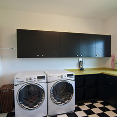 Modern Laundry Room by Troxel Custom Homes