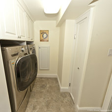 Modern Laundry Room by DJ's Home Improvements