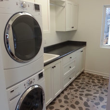 Modern Laundry Room by ROWE DESIGN & CONSTRUCTION INC