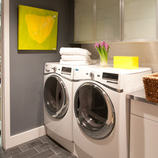 Contemporary Laundry Room by d2 interieurs