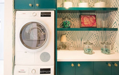 10 Ways to Bring Color Into Your Laundry Room