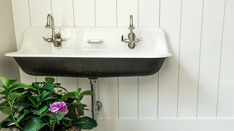 Modern Farm House Vintage Laundry Sink