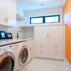 Contemporary Laundry Room by Black Tusk Development Group Ltd.