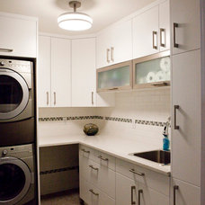 Contemporary Laundry Room by Jake Klassen's Kitchen Gallery