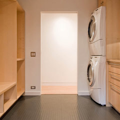 modern laundry room by BUILD LLC