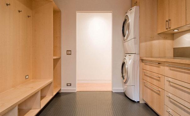 Modern Laundry Room by BUILD LLC