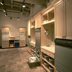 modern laundry room by Clarke