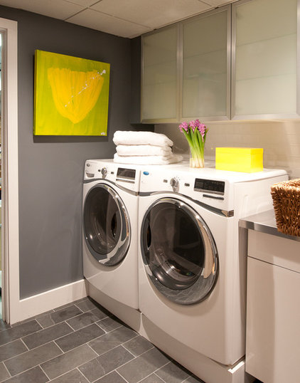 Modern Laundry Room by d2 interieurs