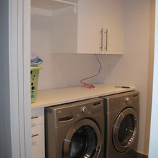 Modern Laundry Room by Fran Hughston - Redl Kitchens