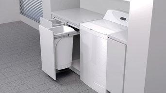 Hideaway Bins - Laundry