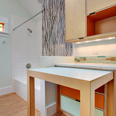 Modern Laundry Room by Kerf Design