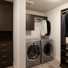 Contemporary Laundry Room by The Red Door Team