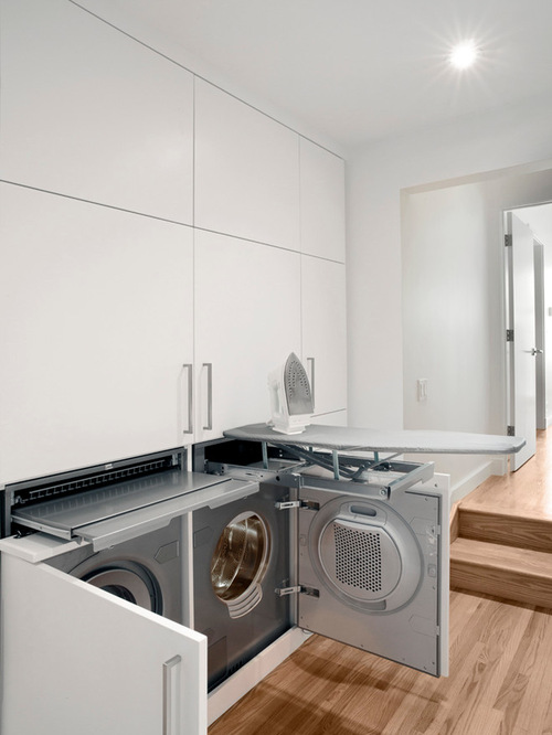 fold down ironing board houzz. Black Bedroom Furniture Sets. Home Design Ideas