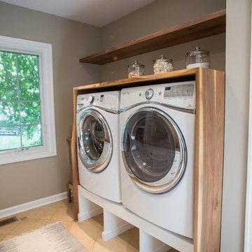 Modern Rustic Wayne Laundry & Mudroom