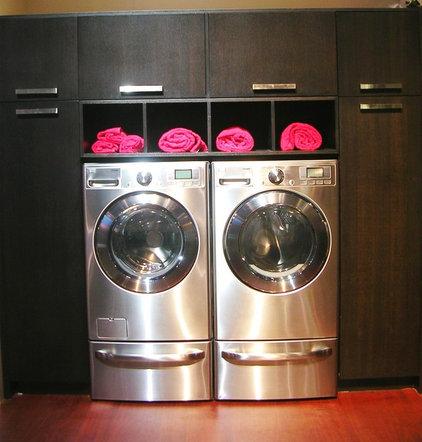 Modern Laundry Room by Marina V. Phillips