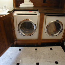 Traditional Laundry Room by Dedham Cabinet Shop, Inc.