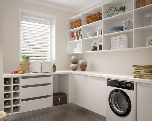 Foto e idee per lavanderie lavanderia moderna hong kong for Lavanderia in campagna