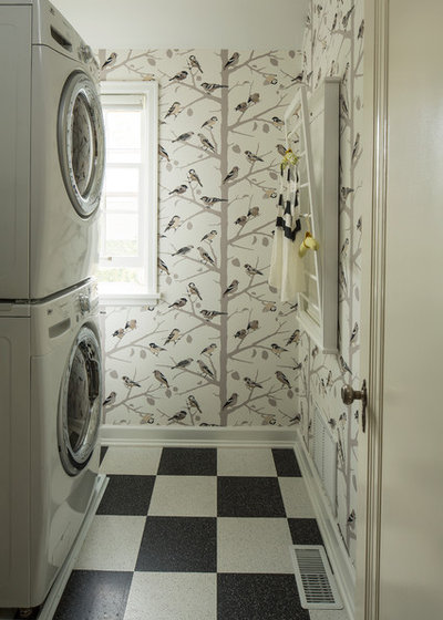 Eclectic Utility Room by Lucy Interior Design