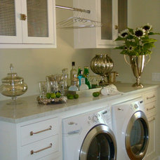 Transitional Laundry Room by studioZiffer