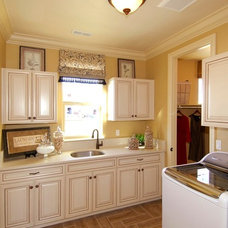 Traditional Laundry Room by Century Communities