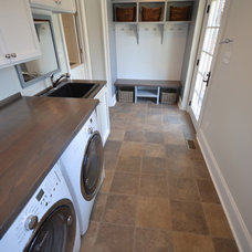 Traditional Laundry Room by Davidson Designs