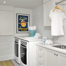 Traditional Laundry Room by Cliff and Evans Ltd.