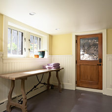 Craftsman Laundry Room by Meriwether Inc