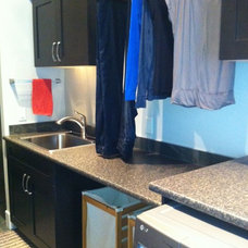 Contemporary Laundry Room by Michelle Yaworski – Gem Cabinets Ltd