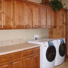 Traditional Laundry Room by Castle Kitchens and Interiors