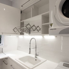 Contemporary Laundry Room by Svelte Architecture + Design LTD