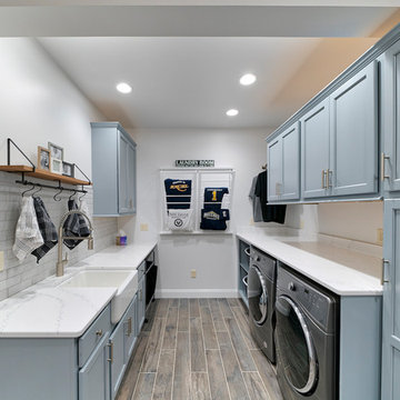 Mud & Laundry Room Makeover