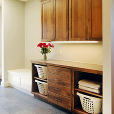 Craftsman Laundry Room by Hood River reDesign