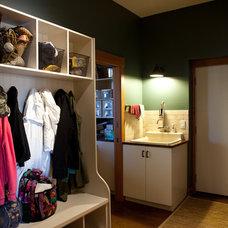 Contemporary Laundry Room by Habitat Studio