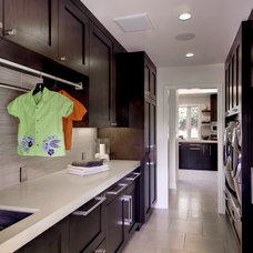 Traditional Laundry Room by Viscusi Elson Interior Design - Gina Viscusi Elson