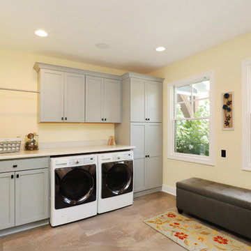 Mudroom & Laundry Combo