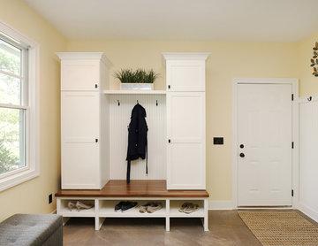 Mudroom & Laundry Combo