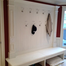 Traditional Laundry Room Mudroom & Laundry Room Makeover