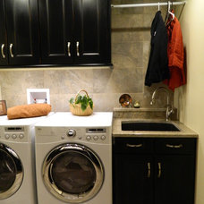 Traditional Laundry Room by Residential Design Unltd.