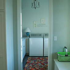 Traditional Laundry Room mudroom