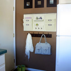 Contemporary Laundry Room Mudroom