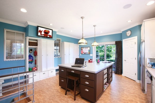 Traditional Laundry Room by KannCept Design, Inc.
