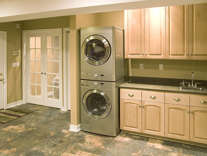 Traditional Laundry Room by Orfield Remodeling, Inc