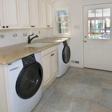 Traditional Laundry Room by R. Craig Lord Construction Company, Inc.
